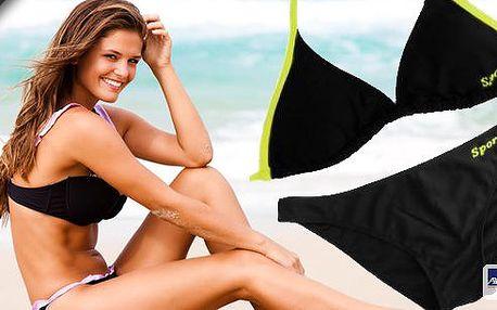 Bikiny sports v zářivých barvách! Do bazénu či za sluncem v nových plavkách!!! Kvalitní bikiny ozdobí každou postavu, módní kombinace zářivých barev perfektně zvýrazňuje opálenou pokožku. Poštovné zdarma.