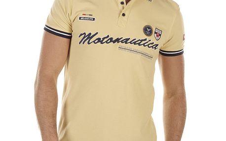 Pánské žluté polo tričko Bendorff