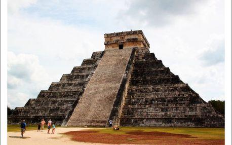 Dobrodružná dovolená ve Střední Americe na 18 dní: Mexiko-Guatemala-Belize
