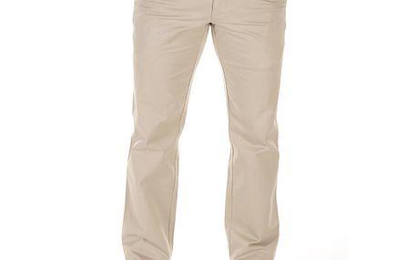 Pánské krémové plátěné kalhoty Bendorff