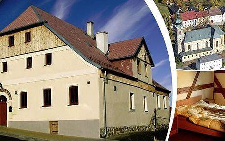 3 dny pro dva v CHKO Slavkovský les v blízkosti světoznámého pokladu sv. Maura a lázní Karlovy Vary s polopenzí, slevou do lázeňských bazénů, lahodné palačinky s kávou pro dva - to vše v penzionu Plzeňka! Platnost do konce července 2014!