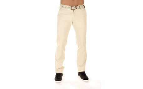 Pánské krémové chinos kalhoty Bendorff