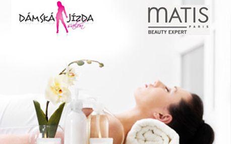 Kompletní hodinové kosmetické ošetření pleti luxusní profesionální kosmetikou Matis Paris.