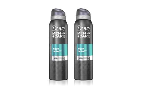 2xDove M+C deo spray Aqua Impact 150ml
