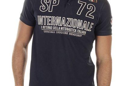 Pánské polo triko s výšivkami Bendorff