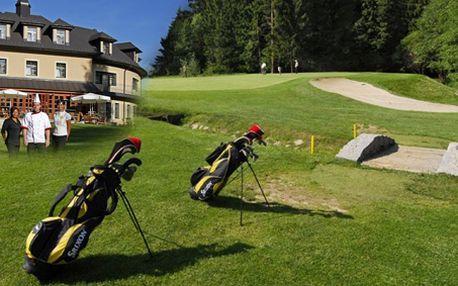GOLFOVÝ POBYT v Mariánských Lázních v Golf hotel Morris MARIÁNSKÉ LÁZNĚ