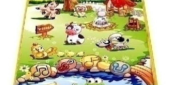 Hrající a zároveň naučná podložka pro deti ! Perfektní dárek !