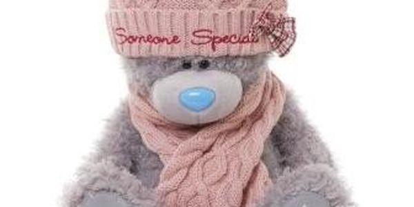 MTY Medvídek 30 cm v čepici