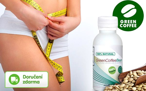 Green Coffee Bean – 60 až 180 tablet