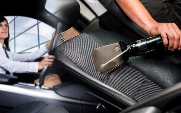 Tepování interiéru vozu včetně kufru