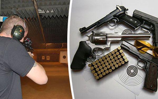 Akční střelba z 15, 6 nebo 3 zbraní