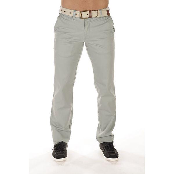 Pánské šedé chinos kalhoty Bendorff
