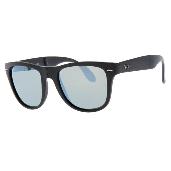 Skládací antracitové sluneční brýle Ray-Ban