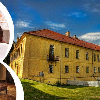 Zámecký pobyt s masáží v Chateau Hostačov