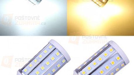 10 W LED žárovka s 60 LED diodami - 2 barvy světla (patice E27) a poštovné ZDARMA! - 13109842