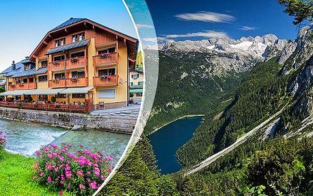 Nabitý pobyt v rakouských Alpách pro DVA s neomezeným wellness