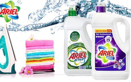 Prací gel Ariel Actilift - GIGA XL balení s doručením zdarma