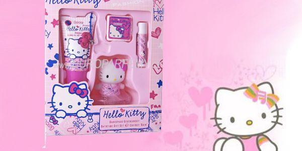 Hello Kitty Set 4ks, sada dětské kosmetiky.