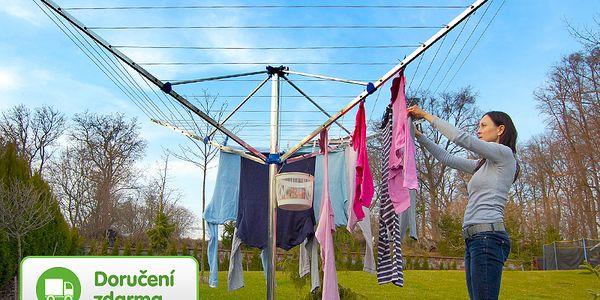 Velký zahradní sušák na prádlo