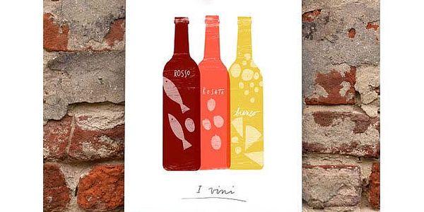 Plakát Vino Italiano