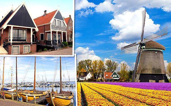 Zájezd za krásami Amsterdamu s návštěvou rybářské vesničky Volendam a větrných mlýnů