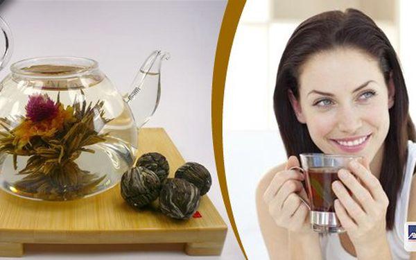 10 ks kouzelných kvetoucích čajů! Zastavte se na chvíli u šálku čaje! Vytvořte si čajový květ a pozorujte, jak pomalu rozkvétá.