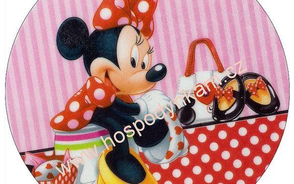 Jedlý papír Minnie Mouse 6 oplatka