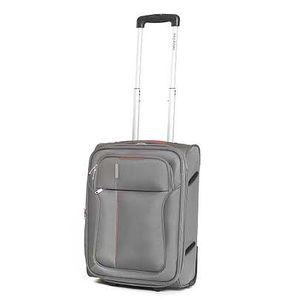 Malý šedý cestovní kufr Ravizzoni