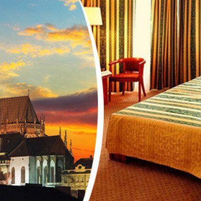 Romantický pobyt pro dva v secesním hotelu v Praze