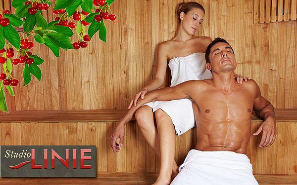 Privátní saunování s koupelí a masáží pro 2 osoby