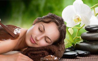 Čokoládová masáž zad pravou čokoládou v kombinaci s lávovými kameny jen za 299 kč! Při zábalu si můžete užívat relaxační masáže plosek nohou! Dopřejte si maximální relax a uvolnění s jedinečnou slevou 57%!