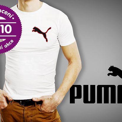 Pánské bavlněné tričko Puma – 3 barvy