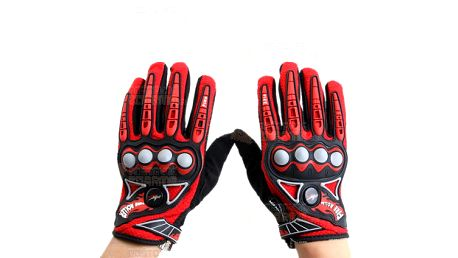 Motocyklistické rukavice L - 2 barvy a poštovné ZDARMA! - 13704164