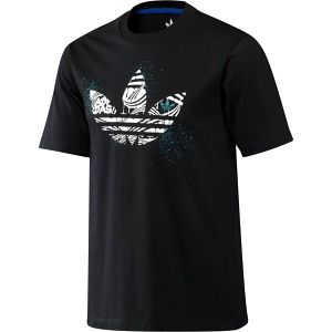 Pánské tričko Adidas AS Crazy Fill s krátkými rukávy a velkým moderním potiskem na hrudi