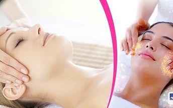 Dopřejte si luxusnímasáž obličeje, krku a dekoltuv délce 60 minut se zapracováním séra kolagenu s elastinem ultrazvukovou špachtlí.