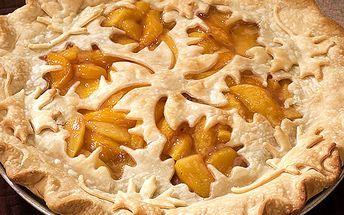 Forma na koláč Jablíčka a dubové listí