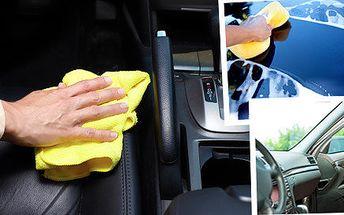 Mobilní čištění interiéru a ruční mytí osobních vozů všech značek u vás