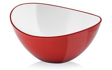 Červená mísa na salát Livio, 25 cm