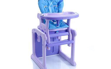Židlička Babypoint Gracia fialová