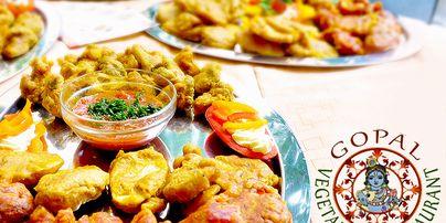 Vegetarian restaurant Gopál