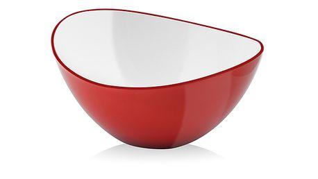 Červená miska Livo, 16 cm