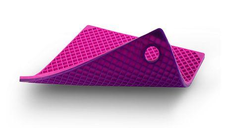 Silikonová podložka pod hrnce - fuchsia/fialová