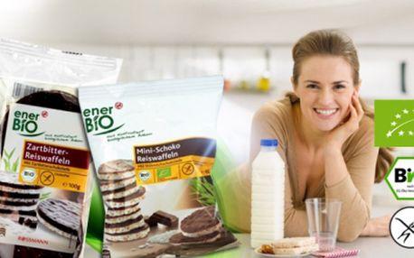 Bezlepkové BIO RÝŽOVÉ CHLEBÍČKY nebo RACIOLKY exkluzivní značky EnerBio, přímo od výrobce! Vyberte si z několika druhů! 72 ks rýžových chlebíčků, nebo 10 balíčků raciolek za 199 Kč! Osobní odběr na Praze 4 i v Brně ZDARMA!