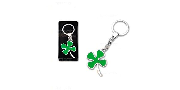 Přívěsek na klíče ve tvaru čtyřlístku a poštovné ZDARMA s dodáním do 3 dnů! - 14309951