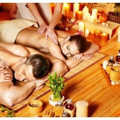 MASÁŽ DVOJIC!!60 MINUTOVÁ PÁROVÁ MASÁŽ ZA HŘEJIVÝCH 449- Kč. Pro harmonii vztahů máme masáž párů. AKCE 3 + 1 ZDARMA - Zamilovaný a relaxační dárek , sdílejte hezké chvilky spolu, velký výběr masáží, odpočívejte, relaxujte, nic nedělejte a jen si uživejte, vychutnávejte a prožívejte každou minutu z celé hodiny. Pozvěte partnera či partnerku! Opakovaná masáž má rozsáhlejší účinky než masáž jednorázová. Při zakoupení tří ponů dostanete čtvrtý zdarma