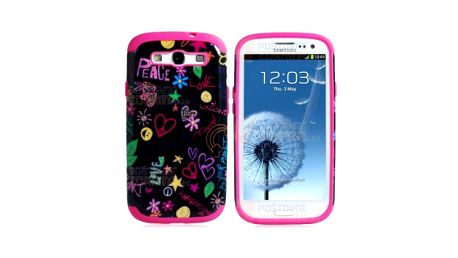 Růžový retro zadní kryt na Samsung Galaxy S3/ I9300 a poštovné ZDARMA! - 13707789