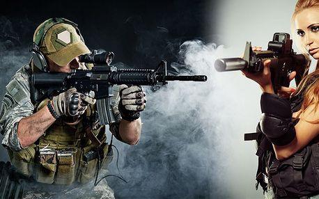 Akční zážitková střelba se slevou 70 %