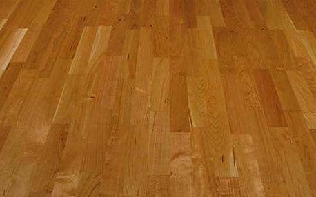 Dřevěná podlaha Americká třešeň lak click