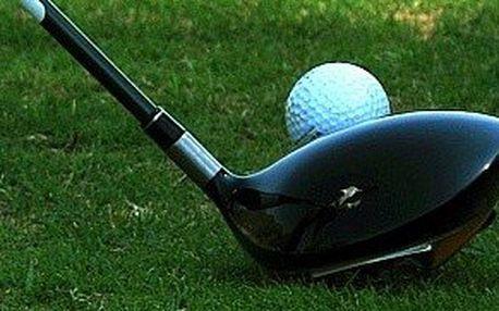 100 míčků, možnost zapůjčení golfových holí a vstupné na Golfový Driving Range pro dvě osoby