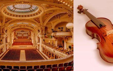Jedinečný májový koncert ve Smetanově síni Obecního domu